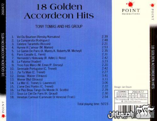 Tony Tomas - 18 Golden Accordeon Hits 1992